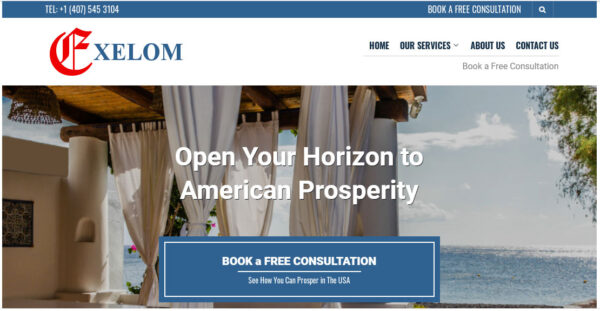 exelom.com- USA Consulting Company for International Individuals and Corporations